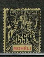 MOHELI          N°  YVERT  :  9   ( 3 )    OBLITERE       ( Ob   5/17 ) - Oblitérés