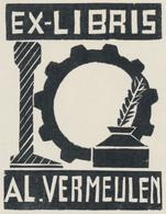 Ex Libris Al. Vermeulen - Ipse Fecit - Ex-libris