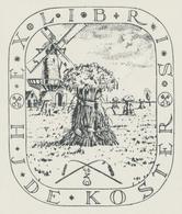 Ex Libris H.J. De Koster - Wim Zwiers (1922-2019) - Ex-libris