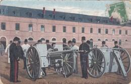 Artillerie - Instruction Sur Le Canon De 75 Mm - Armée Soldats Caserne Militaires - CAD Verrey-sous-Salmaise (21) - Ausrüstung