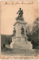 31oz 1102 CPA - NANTES - MONUMENT DES DEFENSEURS DE LA PARTIE - Nantes