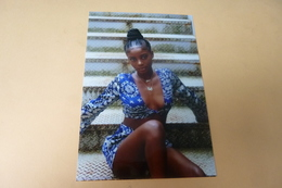 REPRODUCTION PHOTO ....BELLE  FEMME NOIRE SEXY - Personnes