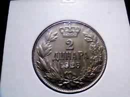 Yugoslavia KM 6    2 Dinara 1925 - Joegoslavië