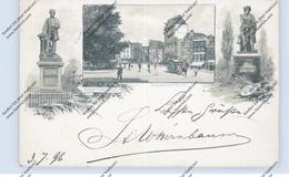 NOORD-HOLLAND - AMSTERDAM, Rembrandtplein, Paarden Tram, 1896 - Amsterdam