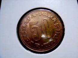 Yugoslavia KM 46.1    50 Dinara 1977 - Yugoslavia