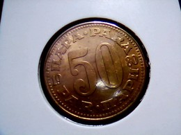 Yugoslavia KM 46.1    50 Dinara 1977 - Joegoslavië
