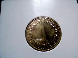 Yugoslavia KM 86    1 Dinar 1982 - Yugoslavia