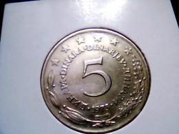 Yugoslavia KM 58    5 Dinara 1973 - Yugoslavia