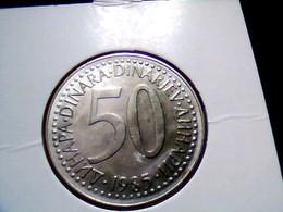Yugoslavia KM 113    50 Dinara 1985 - Yugoslavia