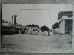 SAINT MANDRIER       DEBARQUEMENT DES MALADES - Saint-Mandrier-sur-Mer