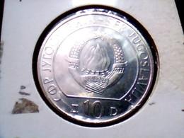 Yugoslavia KM 96    10 Dinara 1983 - Yugoslavia