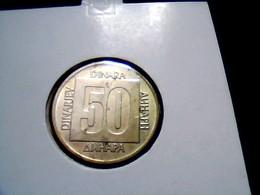 Yugoslavia KM 133    50 Dinara 1988 - Yugoslavia
