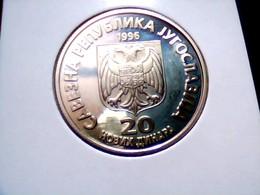 Yugoslavia KM 169    20 Nova Dinara 1996 - Yugoslavia