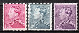 429/31**  Poortman - Bonnes Valeurs - MNH** - LOOK!!!! - 1936-51 Poortman
