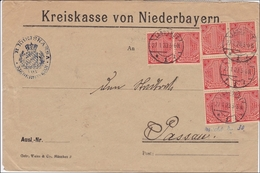 Kreiskasse Niederbayern Landshut Nach Passau 1923 - Officials