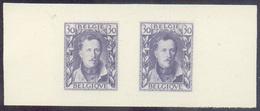 Proposition D'un Auteur Inconnu (ca.1928) 30 Centimes ALBERT 1er De Profil En PAIRE, Réalisé Par La Maison Orell Fussli - Proofs & Reprints