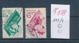Niederlande  Nr. 243-44  O  (ef998  ) Siehe Scan - 1891-1948 (Wilhelmine)