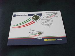 Cartolina Postale  ANNULLO FILATELICO SERIE ORDINARIA POSTA ITALIANA GIORNO DI EMISSIONE 0,70 CENT MAXIMUM - 6. 1946-.. Repubblica