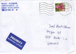 Auslands - Brief Von Briefzentrum 53 Mit 110 Cent Blumen 2020 - [7] République Fédérale