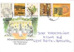 Brief Von 3580 Horn Mit 135 Cent Mischfrankatur Auf ETB NÖ Landesausstellung 2020 - 1945-.... 2ème République