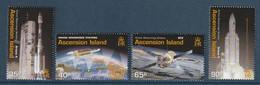 ASCENSION - N°819/22 ** (2003) ESPACE : Ariane Downrange Stations - Africa