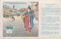 Les Pastilles Valda : L'Allier : Moulins Lapalisse Gannat Montluçon Commentry - Publicité