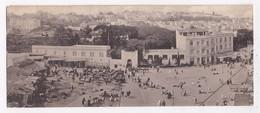 CP DOUBLE MAROC TANGER Vue Panoramique Du Grand Soko - Tanger
