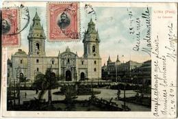 PEROU PERU Lima La Catedral - Peru
