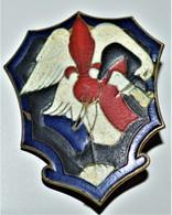 Très Rare Insigne Indochine Gendarmerie Garde Frontière Tonkin - Police & Gendarmerie