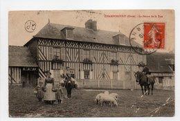 - CPA CHAMPOSOULT (61) - La Ferme De La Rue 1910 (avec Personnages) - Collection P. Bunel - - Sonstige Gemeinden