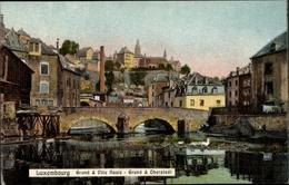 Cp Luxemburg, Grund Und Oberstadt - Postcards