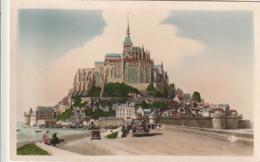 ***  50  ***   LE MONT SAINT MICHEL Vue Prise De La Digue - Timbrée TTB - Le Mont Saint Michel