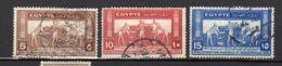 EGYPTE     Oblitéré     Y. Et T.   N° 141 / 143      Cote: 3,50 Euros - Egypt