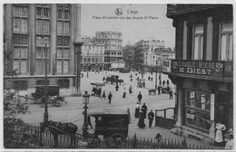 LIEGE : Place Saint-Lambert Vue Des Degrés Saint-Pierre - Liège