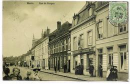 MENIN : Rue De  Bruges - Belle Animation - 1908 - Menen