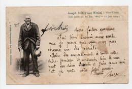- CPA WINKEL (68) - Joseph Fröhly Aus Winkel (100 Jahre 1804 - 1904) - Photo Jos. Roth 20001 - - France