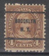 USA Precancel Vorausentwertung Preo, Bureau New York, Brooklyn 636-61 - Precancels