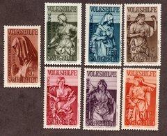 Sarre N°189/95 N* TB Cote 107 Euros !!! - 1920-35 Société Des Nations