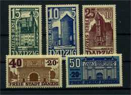 DANZIG 1936 Nr 262-266 Postfrisch (110553) - Danzig