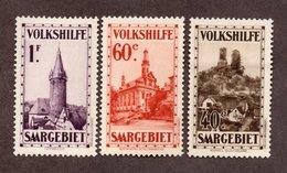 Sarre N°155,156,157 N* TB Cote 60 Euros !!! - 1920-35 Société Des Nations