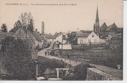 EURE Et LOIR - GALLARDON - Vue D'ensemble Et Perspective De La Rue De Marly - Autres Communes