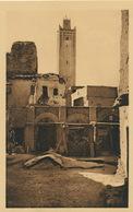 Zenaga Figuig Le Minaret De La Grande Mosquée - Algérie