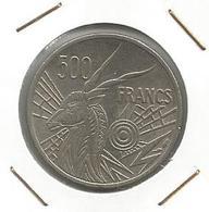 A9 BANQUE DES ÉTATS DE L'AFRIQUE CENTRALE 500 Franncs CFA 1977. D Gabon - Gabón