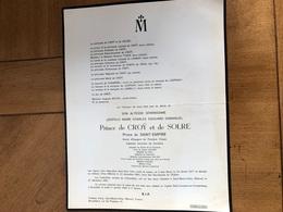 14-18 Prince De Croy Et De Solre *1877 San Remo +1965 Nievre Saint-Bezin-d'Azy De Lannoy De Lespinay De Lambilly - Décès