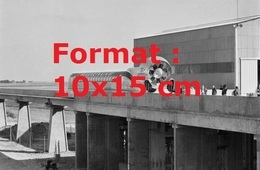 Reproduction D'une Photographie Ancienne D'une Vue De L'aérotrain 180 HV En France En 1969 - Repro's