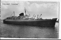 """76 - LE HAVRE  - Paquebot  """" FLANDRE """"  Arrivant Au Port        JYV - Port"""