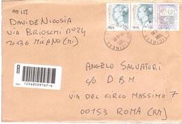 RACCOMANDATA ANNULLO MILANO TICINESE - 2001-10: Poststempel