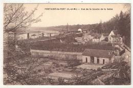 77 - FONTAINE-LE-PORT - Vue De La Boucle De La Seine - Altri Comuni