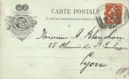 13 - MARSEILLE - Carte Commerciale - Fabricant D'huiles De Graines Nicolas REGGIO - Non Classés