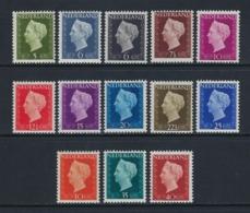 NETHERLANDS 1947 QUEEN WILHELMINE Nº 466/477 ** MNH - 1891-1948 (Wilhelmine)